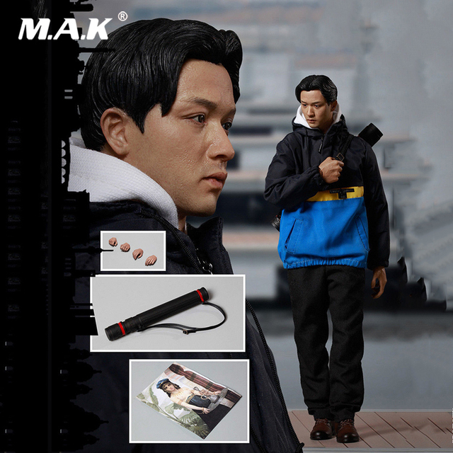 1/6 Full Set Action Figure Fifteenth Anniversary Overrun The Four Seas NO.10002 Movie Star Leslie Cheung Figure for Fans Gift