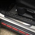 Нержавеющая сталь для T-ROC T ROC TROC 2017-2018 накладки для порогов автомобиля Защита педали крышка отделка автомобиля Стайлинг Аксессуары 4 шт