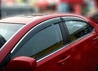 For Chevy Chevrolet Cruze 2009 2010 2011 2012 2013 2014 Sedan Window Visor Vent Shades Sun