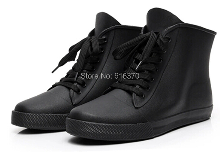 Online Shop Free Shipping,Men's Low-Top Rainboots Ankle Boots ...
