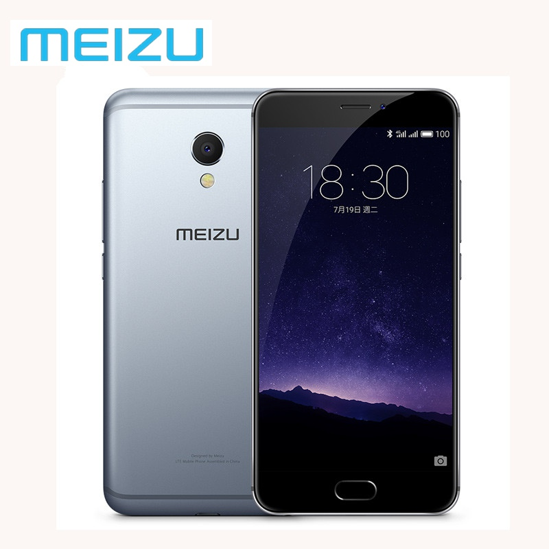 "Original Meizu MX6 4GB 32GB Mobile Phone Android Global Firmware OTA Cellular Deca Core 1920x1080P 5.5"" 12MP Fingerprint M685Q"