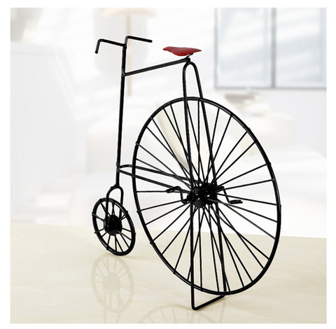Decoração do Metal do Vintage Modelo de Bicicletas Modelo de Bicicleta Fotografia para o para o Casamento 1 pc Lembranças e criativo Forjado Artesanato Adereços Casamento jl 004