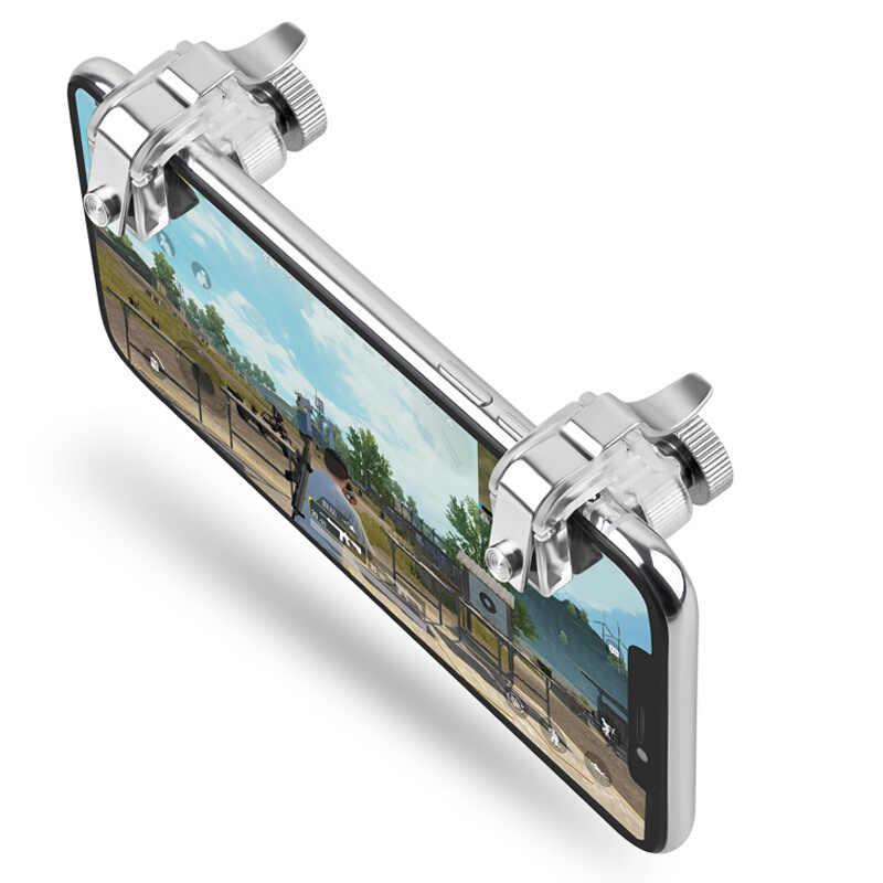 Для PUBG STG FPS геймпад игровой триггер мобильный телефон мобильный контроллер Кнопка огня L1R1 Aim Key джойстик для iphone Xiaomi fortnit