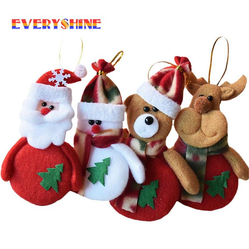 unids rbol de chrismas para el hogar regalos de pap noel mueco de nieve