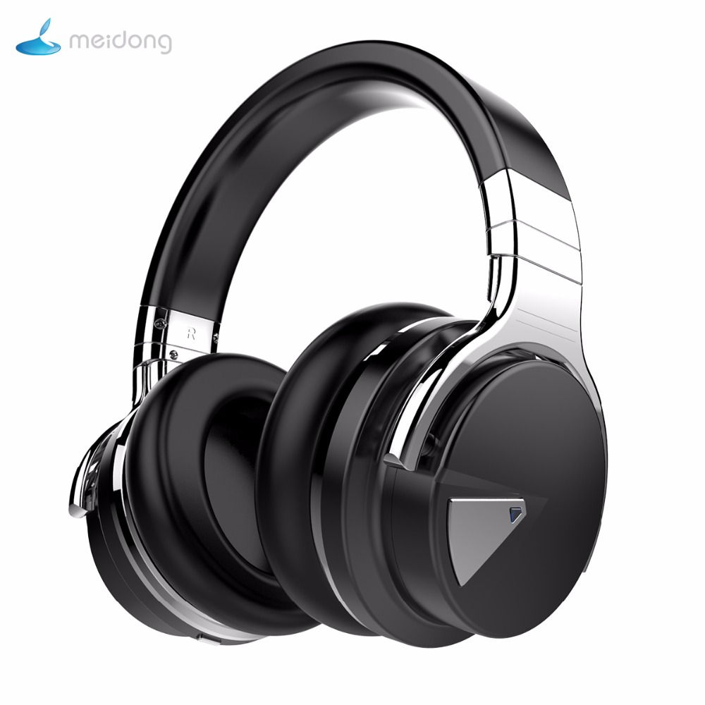 buy meidong e 7 active noise cancelling bluetooth headphones with mic wireless. Black Bedroom Furniture Sets. Home Design Ideas
