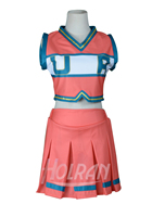 Boku no Hero Academia My Hero Academia Cheerleading Uniform Dress hallowween party dress Cosplay Costume