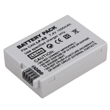 Top Sale 7.4V 1500mAh LP-E8 LP E8 LPE8 Digital Camera Battery For Canon EOS 600D 650D 550D 700D T4i T5i Rebel T2i Camera Battery
