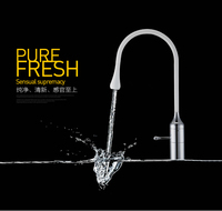 New Arrival Top High Quality Single Lever White And Chrome Finished Hot And Cold Kitchen Sink
