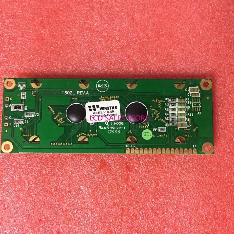WH602L1 WH1602L1-TTL-ET WH1602L1-TFH-JT 1602L REV.A E 243002  LCD DISPLAY SCREEN  ORIGINAL GRAPHIC  MATRIX  CCFL NEW ORIGINAL