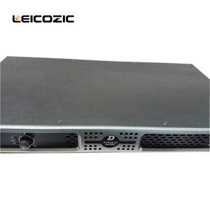 Image 3 - Leicozic DX2350 1u power amplifier מוסיקה מגבר amplificateur professionnel 550W אודיו מגבר 1u כוח מגבר עבור שלב