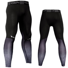 Mens Sports Compression Pants Running Basketball Tights Gym Bodybuilding Jogger Jogging Fitness Skinny Leggings