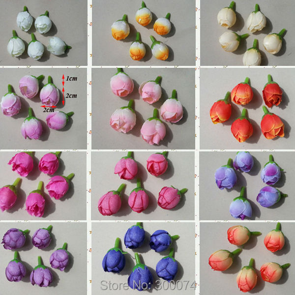 120pcs lot 2cm silk rose flower buds for wedding decoration 120pcs lot 2cm silk rose flower buds for wedding decoration supplies craft flowers diy flower head wreath accessories flor in artificial dried flowers mightylinksfo Image collections