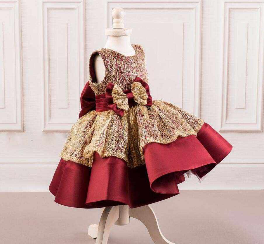 40941a129 Detail Feedback Questions about 2018 new sparkly burgundy and gold ...