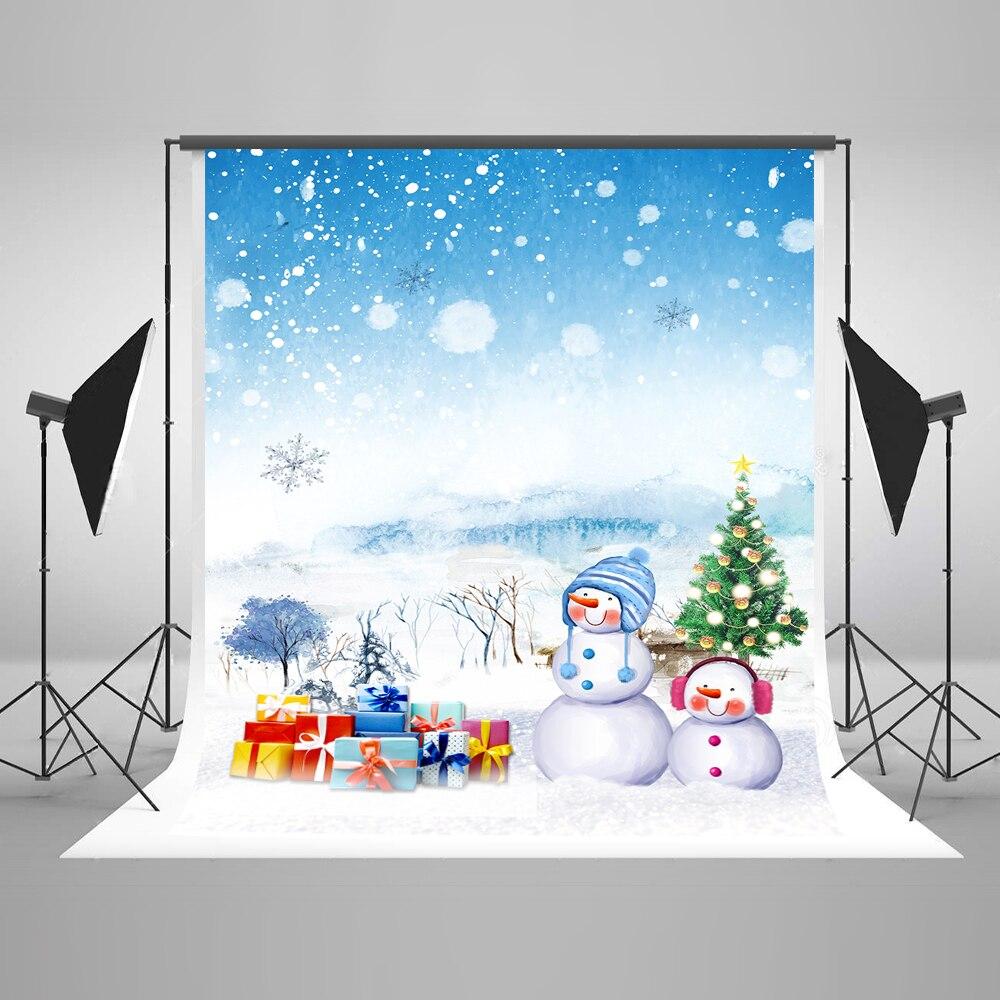 Kate Snow Tree Christmas Photography Backdrops Winter Photo Photocall Sunset Fondos De Estudio Fotografia Cotton Background