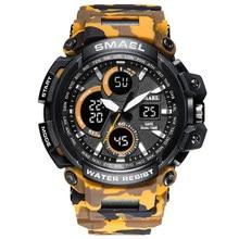 379f8df5f33 Smael esporte relógios 2018 homens relógio à prova d água led digital  relógio masculino relogio masculino erkek kol saati 1708b .
