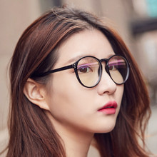 Big Round Glasses Frame For Women Transparent eyeglasses men computer gaming working reading nerd fake Myopia Optical eyewear