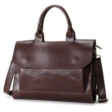 Schulter handtasche männer casual leder businesstasche aktentasche männer umhängetasche laptoptasche reisetaschen