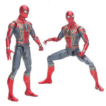 Legends Avengers Infinity War - Iron SpiderMan Spider-Man Ultra Joints Moveable Action Figure model toy(China)