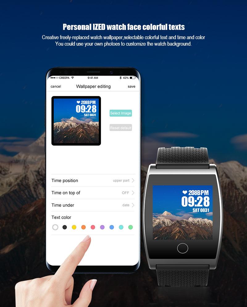 VERYFiTEK QS05 Smart Bracelet Watch Blood Pressure Oxygen Smart Band Heart Rate Monitor Wristband Pedometer Fitness Bracelets  (4)