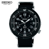 Seiko Watch Male Prospex Series Solar Watch Canvas Belt Retro Sports Quartz Watch