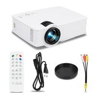 1200 Lumens Portable Led Projector HD 1080P 120 Inch Screen Projector USB LCD Cinema LED Mini