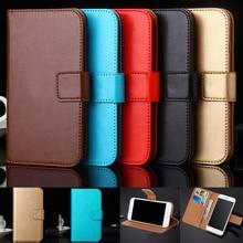 AiLiShi Case For Micromax Q415 Q351 Q409 Bolt Q346 Q383 Q354 Q326 Luxury Leather Case Flip Cover Phone Bag Wallet Holder New micromax q351 canvas spark 2 pro champagne white