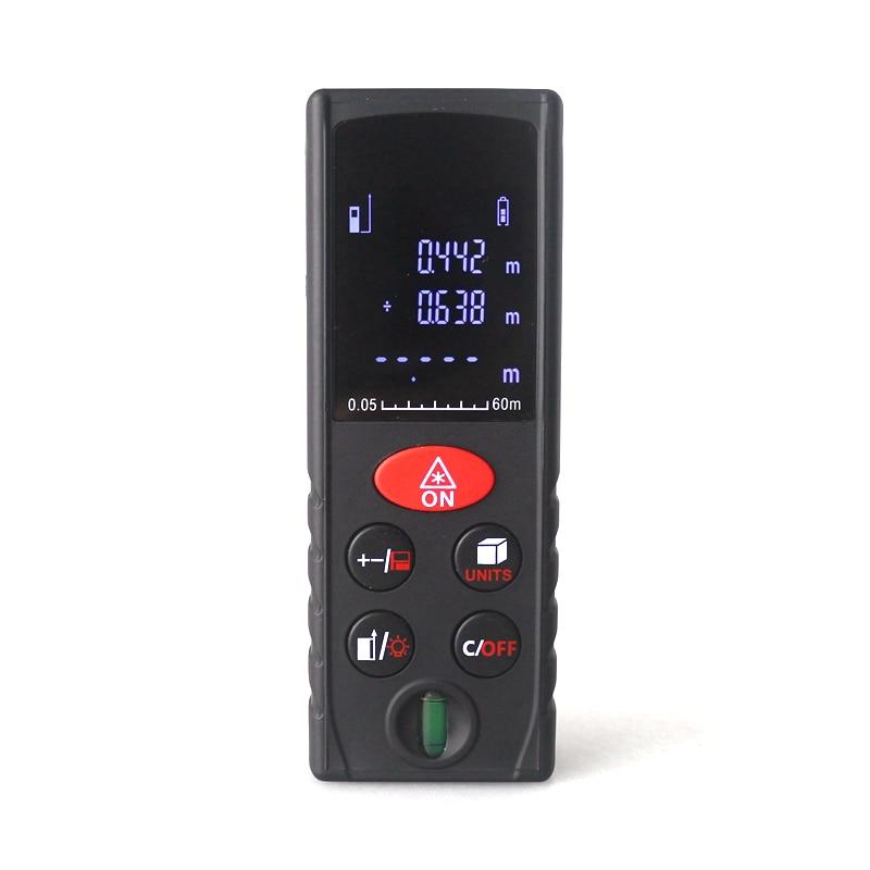 40m 60m 80m 100m Digital Laser Rangefinder Medidor Laser Distance Meter Level Ruler measuring with Air Bulb Diagnostic-tool