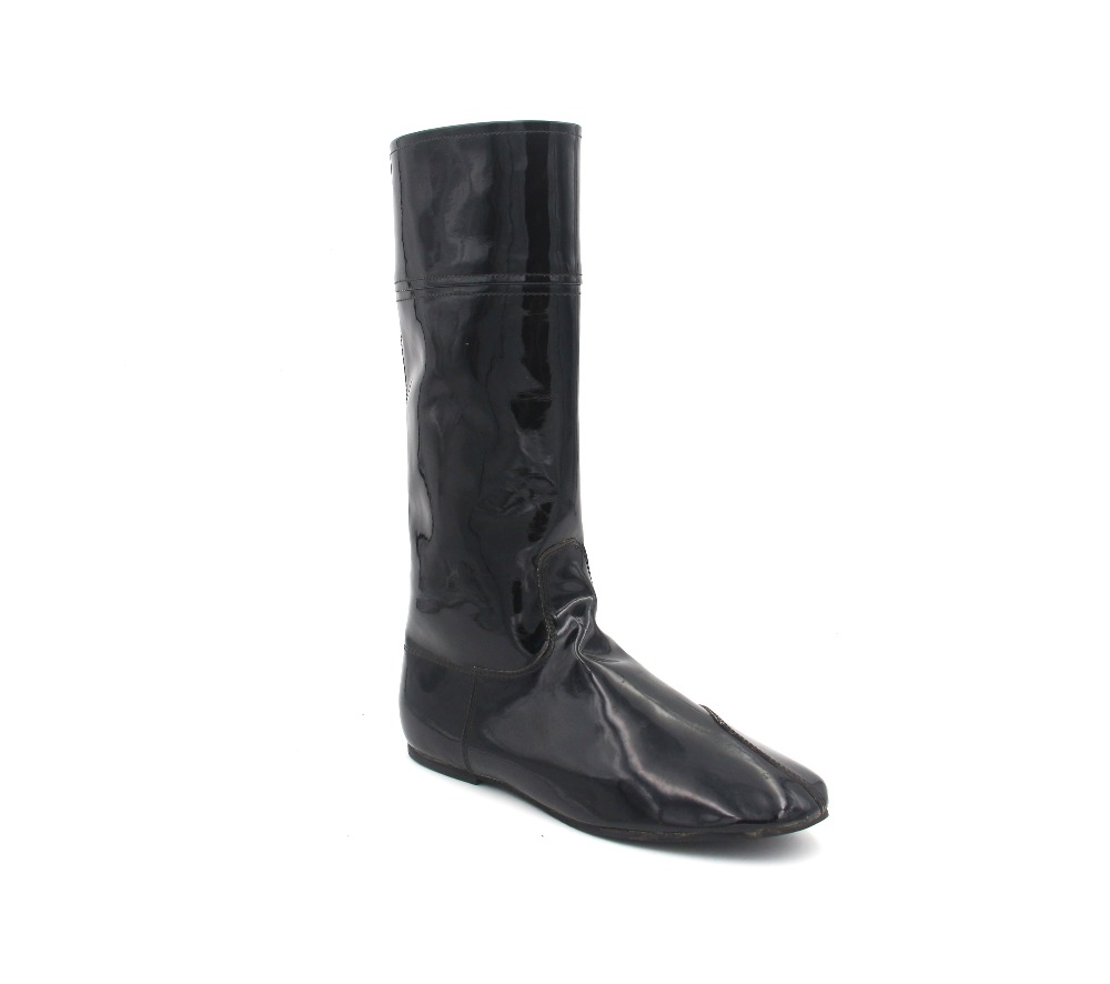Aoud Saddley Horse Riding Boots Patent Leather Dressage boot Equestrian Boots Jockey boots High Quality Back Zipper Shoes Unisex