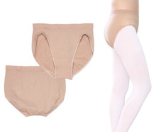 Adult Children Girls Ballet Dance Underwear Skin Seamless Safety Panties Kids Women Ballet Briefs