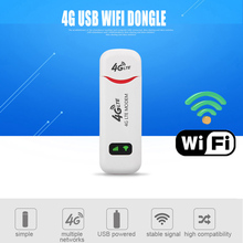 Pocket 3G/4G Wifi Router 100Mbp 4G LTE USB Modem Stick SIM Data Card Mobile Wifi Hotspot Car Router for Outdoor Wireless Sharing