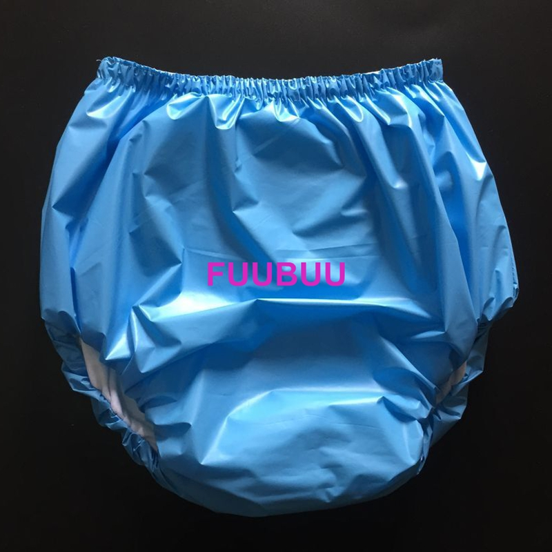 Free Shipping FUUBUU2033-BLUE-XXL ABDL Adult Diaper/ Incontinence Pants/Adult Baby/the Urine Absorption