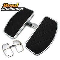 For Yamaha Vstar 1100 1300 Classic Custom Royal Star 1300 Motorcycle Rear Passenger Foot Pegs Floorboards Footboard