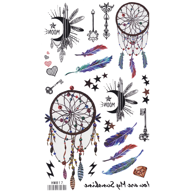 Tattoo Flash Wallpaper By Feathr: King Horse Blue Dreamcatcher Feather Arm Tattoo Sleeve
