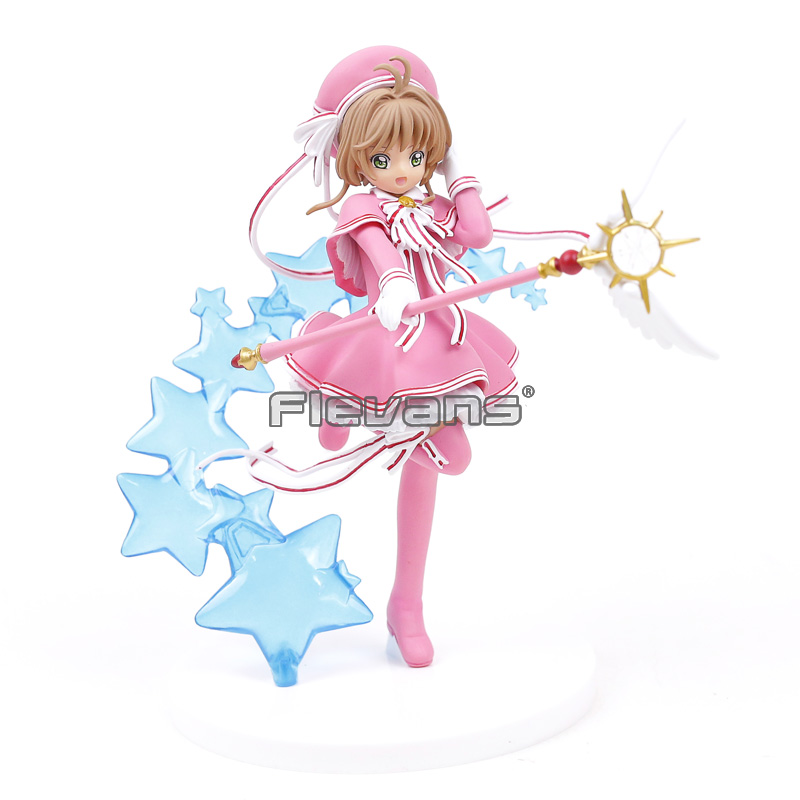 "Anime Cardcaptor Sakura CLEAR CARD Figure 7.5/"" Toy New"