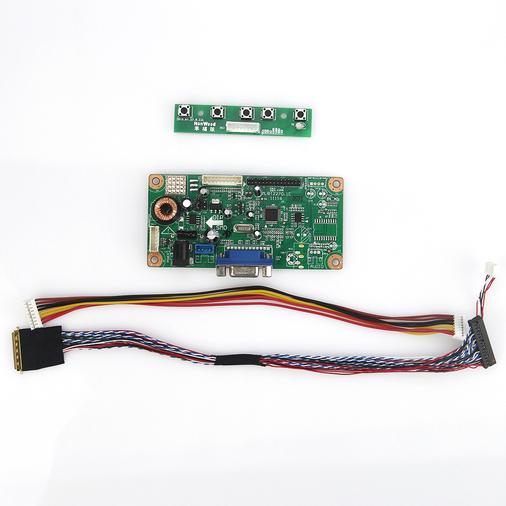 LCD/LED Controller Driver Board(VGA)  For LP101WSA(TL)(A1) PQ 3QI-01  LVDS Monitor Reuse Laptop 1024x600