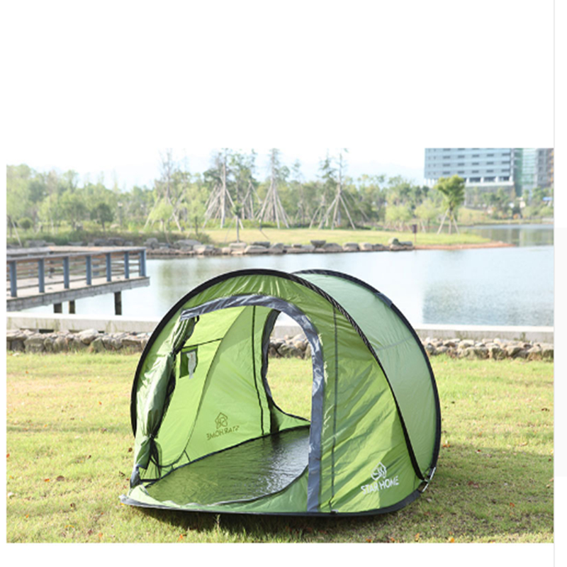 Beach Awning Fishing Tent Outdoor 3-4 Person Camping Beach Summer Tent high quality outdoor 2 person camping tent double layer aluminum rod ultralight tent with snow skirt oneroad windsnow 2 plus