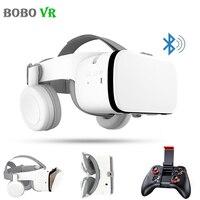 Bobovr Z6 3D Glasses Virtual Reality Immersive VR Headset Bluetooth Wireless Smartphones Google Cardboard Box with Controller