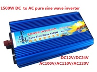 1500W Pure Sine Wave Power Inverter DC 12V TO AC 110V ROHS Approved 3000W Peak Power