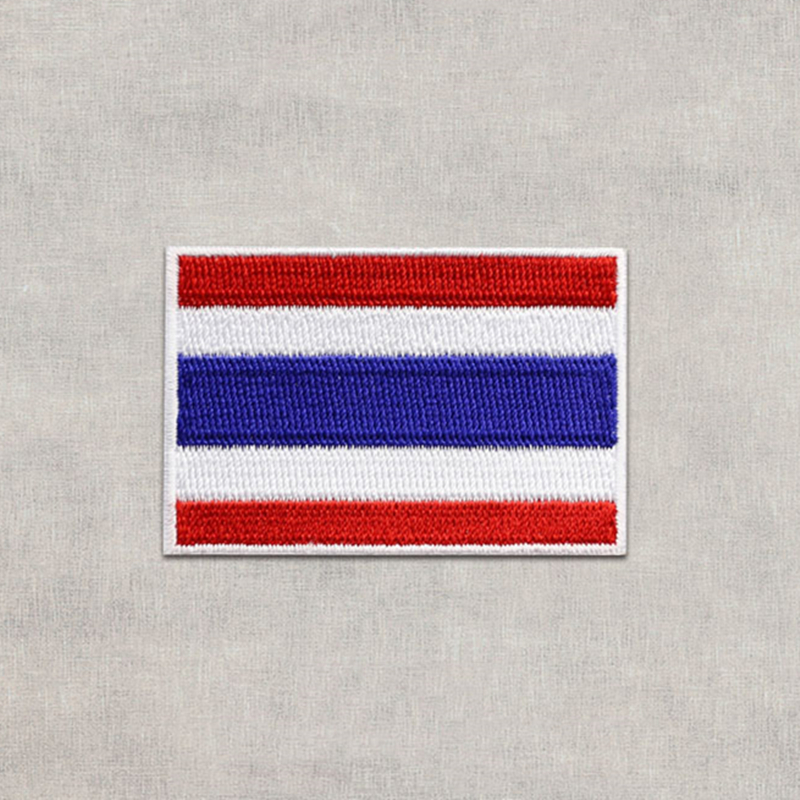 SEW-ON PATRIOTIC MILITARY LOVE IT OR LEAVE IT USA EMBROIDERED PATCH IRON