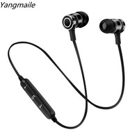 Yangmaile Original Wireless Bluetooth Stereo Headphone In-Ear Earphone Sport With MIC for Music Wireless headset