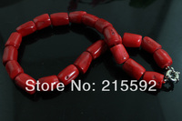 Wonderful Red Coral Fashion Necklace Coral Beaded Necklace Bridal Jewelry,Party Jewelry Free Shipping CN004