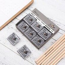 4 pçs/lote borracha amassada borrachas de arte desenho lápis de borracha pastel arte esboço lápis apagadores macios escritório escola suprimentos limpos