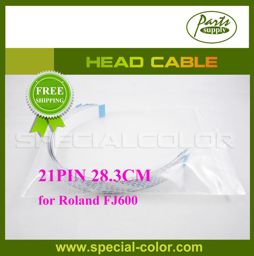 28.3cm 21PIN Head Cable For Roland FJ600 Pinter ...