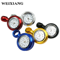 Universal Waterproof M10 Motorcycle Bike Handlebar Electric Clock Watch Durable Aluminum Alloy Clock Locked To Mirror Holder