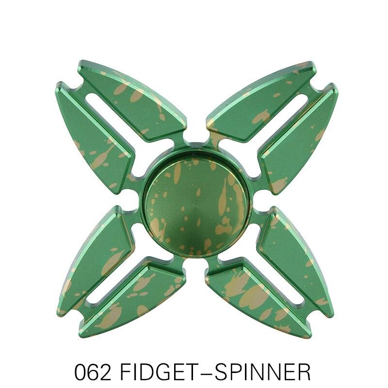 2017 Fidget Spinner Rainbow hand spinners Fidget Toys Four Corners Crab Star spynner Aluminum For Kids