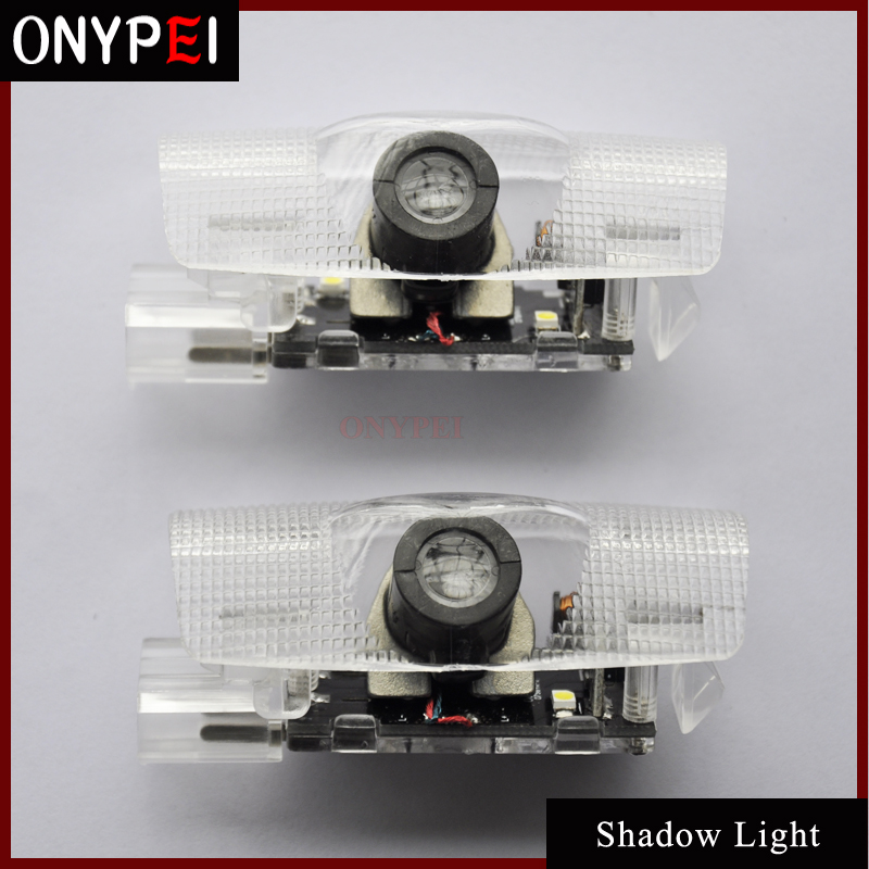 2pcs/lot Car Light Welcome Shadow Light Laser Projector Punching Ghost Shadow Lamp Shadow Light For Toyota
