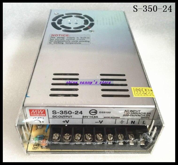 1 pièces S-350-24 350 W 24 V 14.6A AC à DC convertisseur simple sortie alimentation à découpage tout neuf
