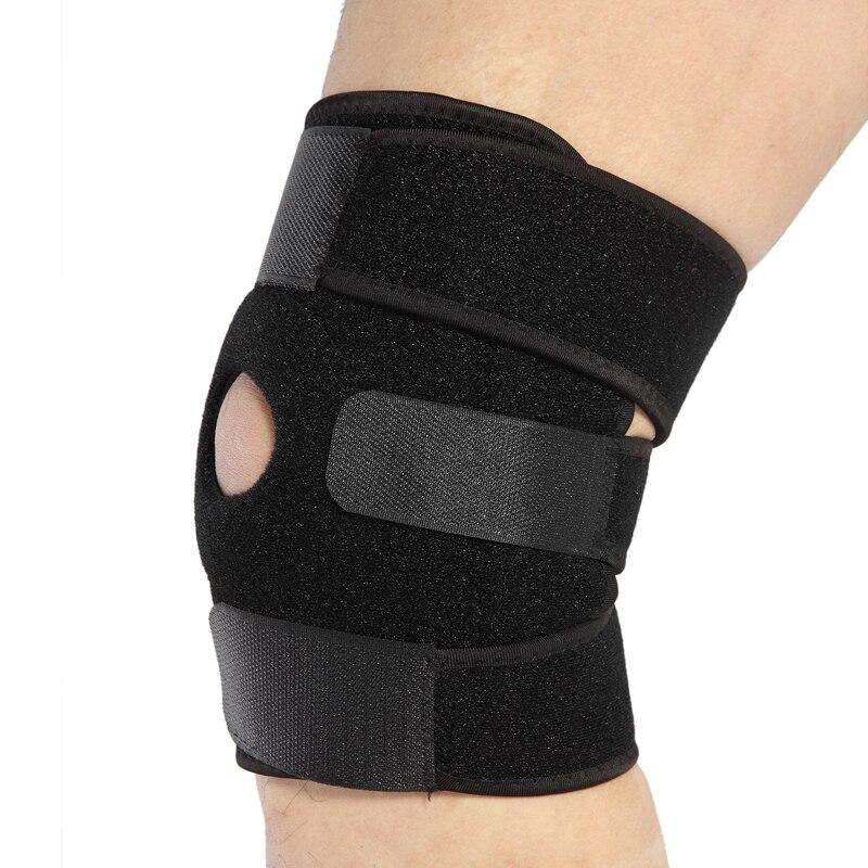 1 шт. наколенника Поддержка протектор-снимает Надколенника Тендинит-джемперы колена Mensicus повышают ACL боковой и медиальной связки