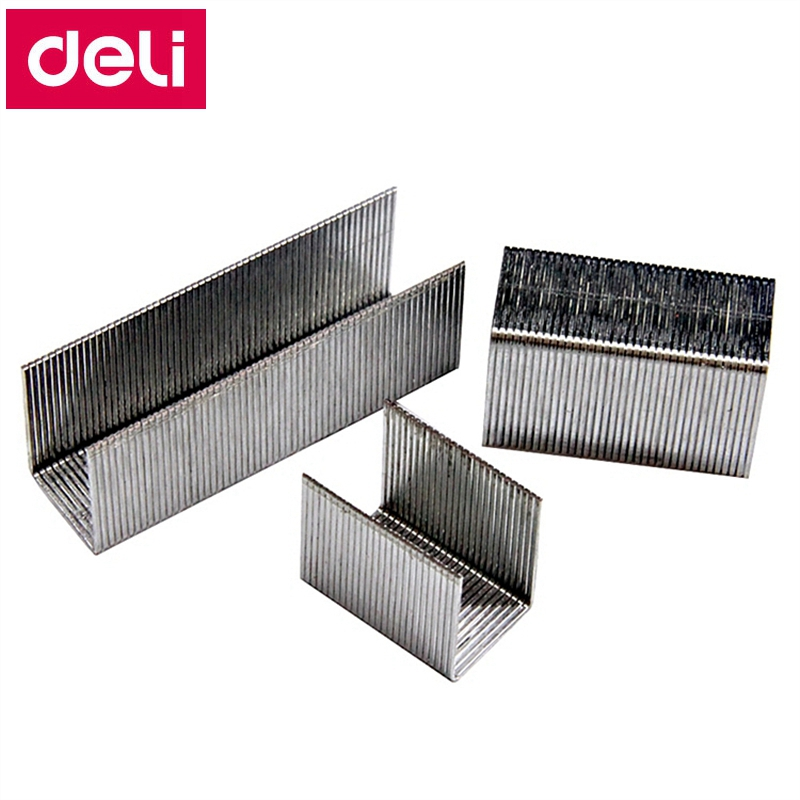 1000PCS/LOT Deli 0017 Heavy Duty Staples 23/17 Staples 13x16mm Staple Width 13mm Height 16mm Capacity 120pages 70g Papers