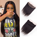 7A Brazilian Lace Frontal Closure Straight Hair Ear To Ear Lace Frontal Closure Brazilian Virgin Hair Straight With Baby Hair